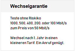 Red Internet und Phone 1000 Cable